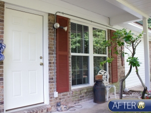 Front Porch before-after