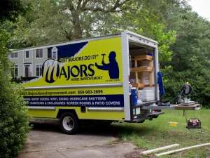 Majors Home Improvement Truck